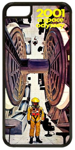 2001 A Space Odyssey Movie Poster Cover/Case For iPhone 7/7S Scifi Classic Film