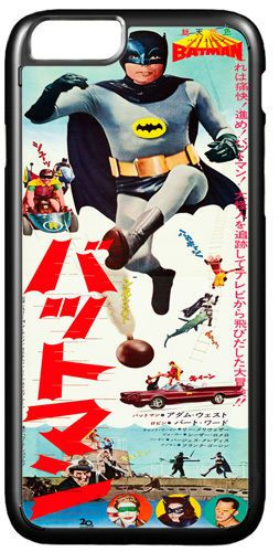 Adam West 1966 Vintage Poster Batman Cover/Case Fits iPhone 7/7S 6/6S 6+/6+S