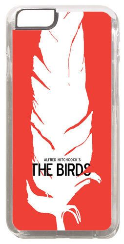 Alfred Hitchcock The Birds Film Poster Cover/Case Fits iPhone 6 PLUS + /6 PLUS S