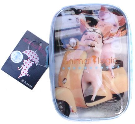 Animal Logic mini make up bag: Tamako on his scooter