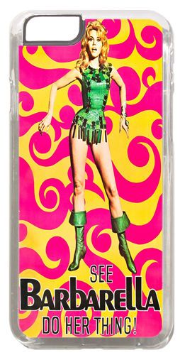 Barbarella Movie Poster #2 Cover/Case Fits iPhone 6 PLUS + /6 PLUS S. Scifi Film