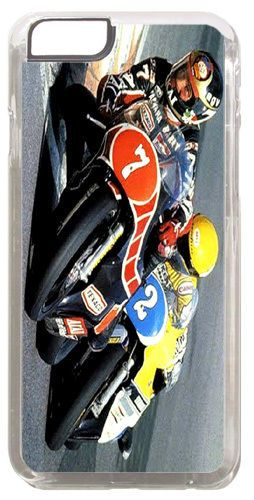 Barry Sheene vs Kenny Roberts Cover/Case Fits iPhone 6 PLUS + /6 PLUS S. Bike