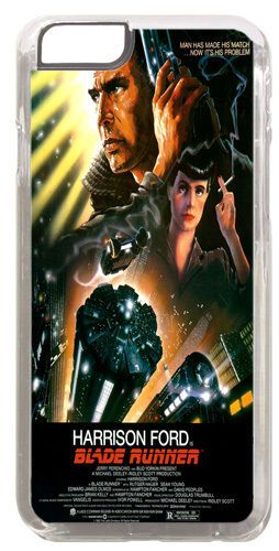 Blade Runner Vintage Movie Poster Cover/Case Fits iPhone 6 PLUS + /6 PLUS S