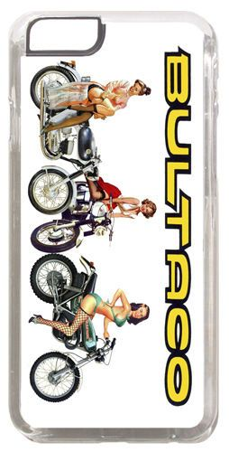 Bultaco Chicas Motorcycle Cover/Case Fits iPhone 6 PLUS + /6 PLUS S. Motorbike