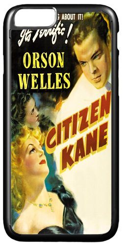 Citizen Kane Vintage Movie Poster Cover/Case Fits iPhone 7/7S. Classic Film Noir