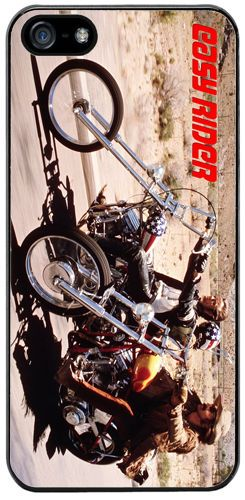 Easy Rider Movie Film Rubber Cover/Case Fits iPhone 5/5S. Motorcycle, Biker