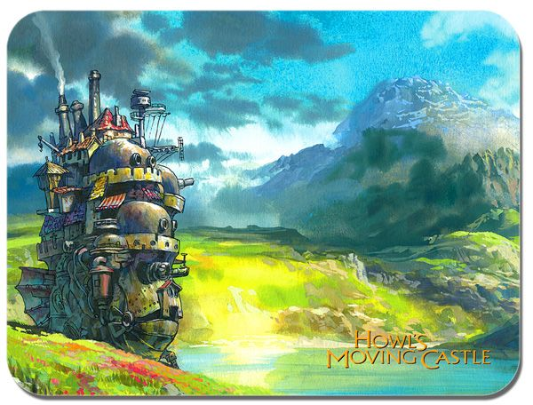 Howl's Moving Castle Studio Ghibli Mouse Mat Mouse Pad
