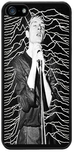 Ian Curtis Joy Division Rubber Cover/Case Fits iPhone 5/5S. Punk New Wave