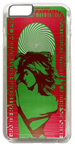 MC5 James Cotton Concert Poster Cover/Case Fits iPhone 6/6S. Psychedelic Music