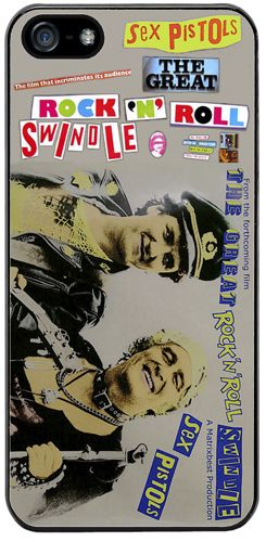 Sex Pistols Rock N Roll Swindle Punk Vintage Promo Cover/Case Fits iPhone 5/5S