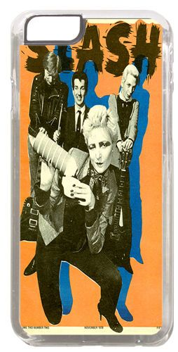 Siouxsie And The Banshees Vintage Poster Cover/Case Fits iPhone 6. Quality Punk