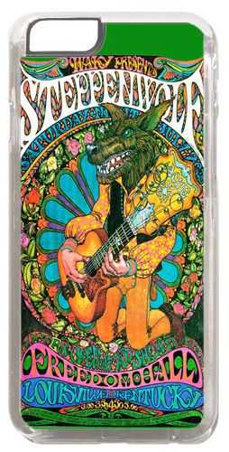 Steppenwolf Vintage Concert Poster Cover/Case Fits iPhone 6/6S. Psychedelic Rock