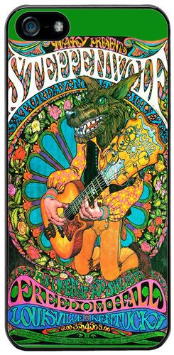 Steppenwolf Vintage Concert Poster High Quality Cover/Case Fits iPhone 5/5S
