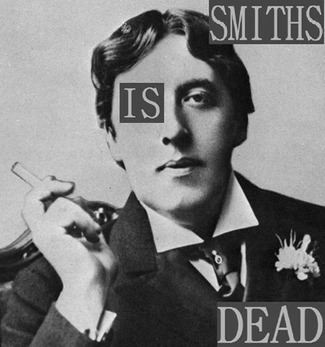 The Smiths Is Dead Oscar Wilde T-Shirt. Gents, Ladies & Kids Sizes. Morrissey