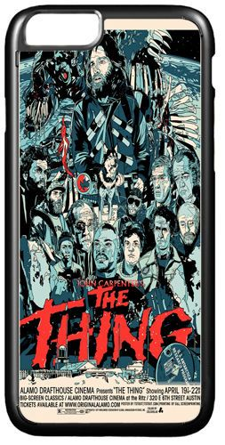 The Thing Movie Poster Cover/Case Fits iPhone 7/7S 6/6S 6+/6+S. Vintage Horror