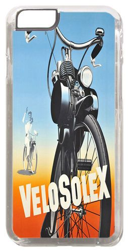 Velosolex Moped Vintage Ad Motorcycle Cover/Case Fits iPhone 6 PLUS + /6 PLUS S