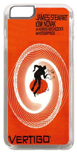 Vertigo Saul Bass Movie Film Poster Cover/Case Fits iPhone 6 PLUS + /6 PLUS S