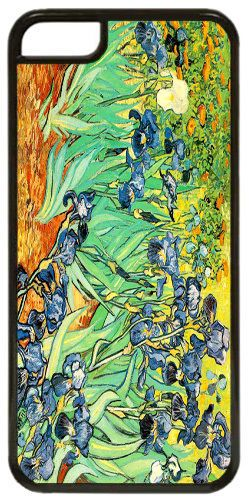 Vincent Van Gogh Irises High Quality Cover/Case For iPhone 5C. Fine Art Gift