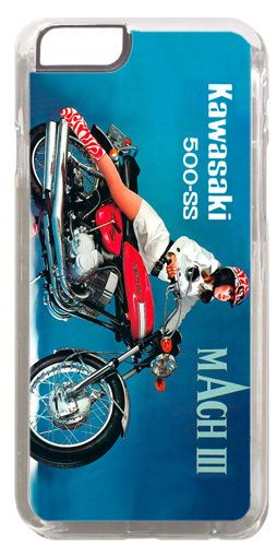 Vintage 500 H1 Mach III 3 Motorcycle Ad HD Cover/Case For iPhone 6 Motorbike