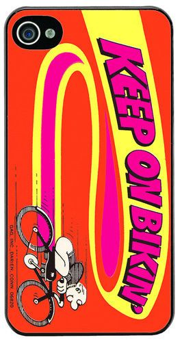 Vintage 70's Bike Poster Advert High Quality Cover/Case Fits iPhone 4/4S Cycling