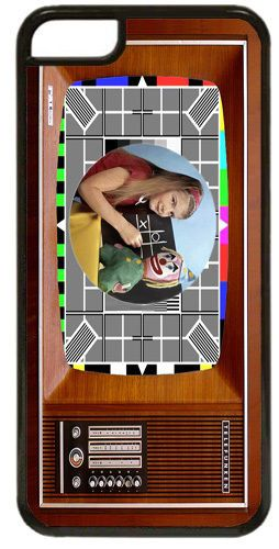 Vintage Television Set Cover/Case Fits iPhone 7/7S. The Test Card In Colour TV