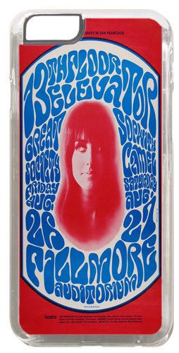 13th Floor Elevators Grace Slick Poster Cover/Case Fits iPhone 6/6S Rock Music