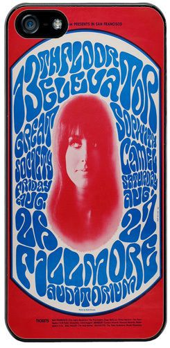 13th Floor Elevators Grace Slick Poster High Quality Cover/Case Fits iPhone 5/5S