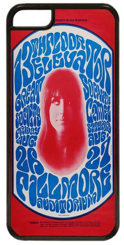 13th Floor Elevators Grace Slick Poster High Quality Cover/Case Fits iPhone 5C
