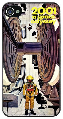 2001 A Space Odyssey Movie High Quality Cover/Case For iPhone 4/4S Scifi Film