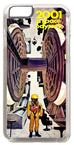 2001 A Space Odyssey Movie Poster Cover/Case For iPhone 6/6S Scifi Classic Film