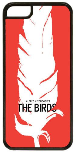 Alfred Hitchcock The Birds Movie Film Poster HD Cover/Case Fits iPhone 5C