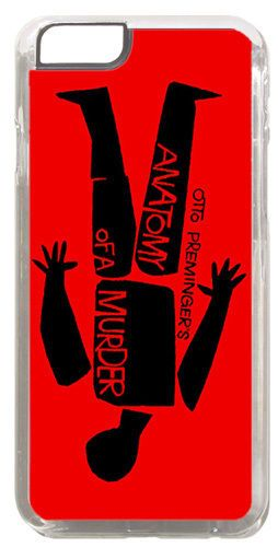 Anatomy Of Murder Saul Bass Movie Film Poster Cover Case Fits Iphone 6