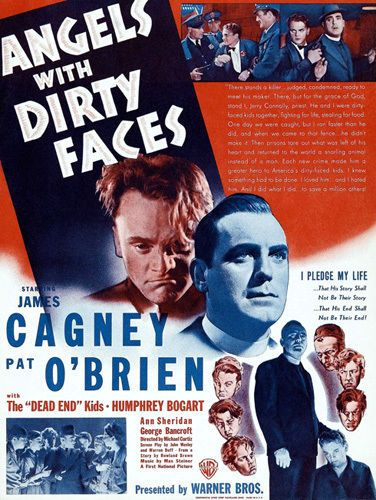Angels With Dirty Faces Movie Film Poster T-Shirt Gents Ladies Kids Sizes Bogart
