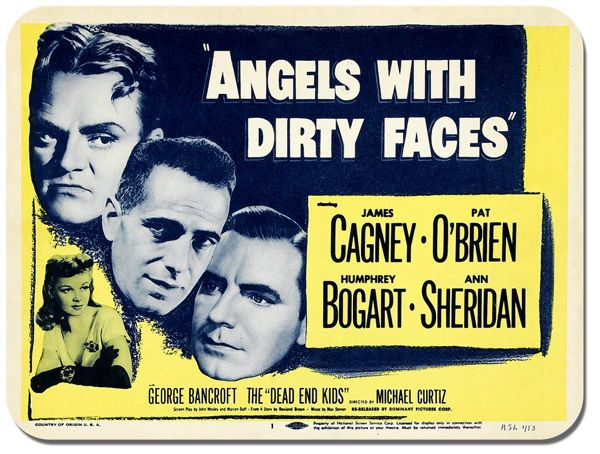 Angels With Dirty Faces Movie Mouse Mat. Bogart, Cagney  Quality Film Mouse pad
