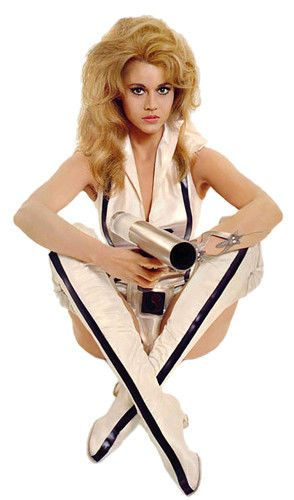 Barbarella Jane Fonda Movie Film T-Shirt. Gents, Ladies & Kids Sizes