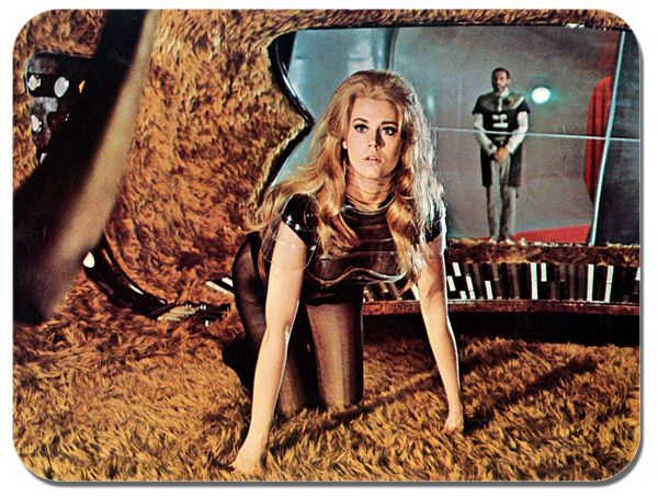 Barbarella Movie Poster 3# Mouse Mat. High Quality Sixties Sci Fi Film Mouse Pad