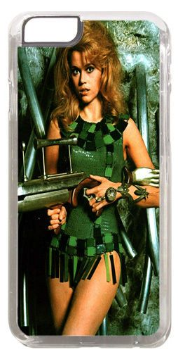 Barbarella Movie Poster Cover/Case Fits iPhone 6 PLUS + /6 PLUS S. Scifi Film