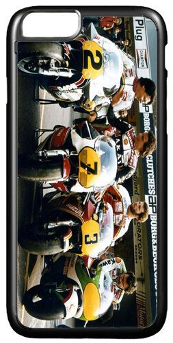 Barry Sheene Motorcycle Cover Case For iPhone 7 Moto GP Legends Motorbike Racing