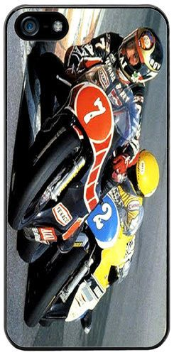 Barry Sheene vs Kenny Roberts Cover/Case For iPhone 5/5S Motorcycle Racing Biker