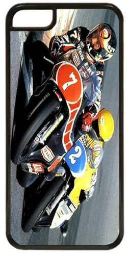 Barry Sheene vs Kenny Roberts Cover/Case For iPhone 5C. Motorcycle Racing Bike