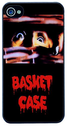 Basket Case Horror Movie Film Poster Cover/Case Fits iPhone 4/4S