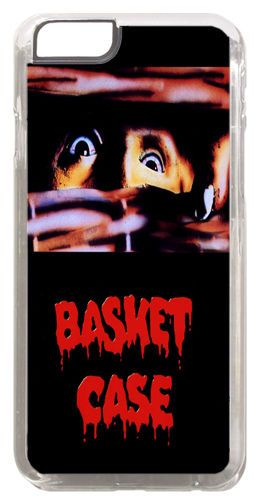 Basket Case Horror Movie Poster Cover/Case Fits iPhone 6 PLUS + /6 PLUS S. Film
