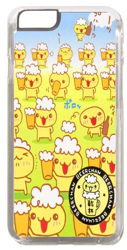 Beer Chan Drinking Cover/Case Fits iPhone 6 PLUS + /6 PLUS S. Japan Kawaii Gift