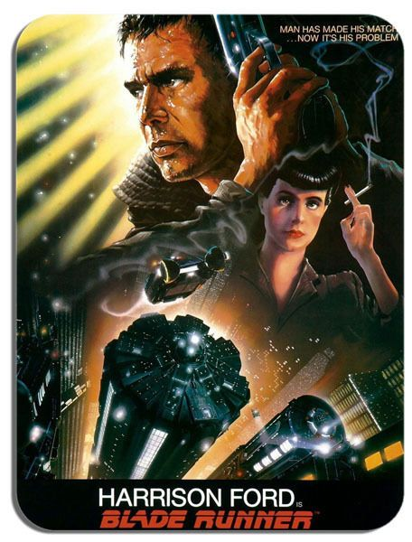 Blade Runner Movie Poster Mouse Mat. Film Novelty Mouse pad