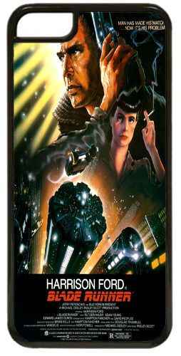 Blade Runner Vintage Movie Poster High Quality Cover/Case For iPhone 5C. Film