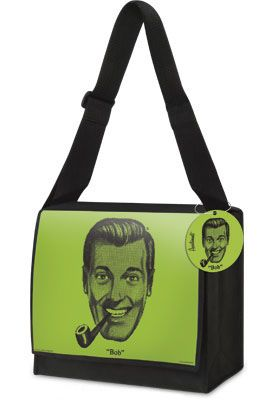 Bob Dobbs Church of the Subgenius Messenger Bag