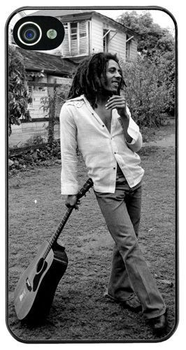 Bob Marley High Quality Cover/Case Fits iPhone 4/4S Reggae Rasta Wailers Jamaica