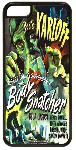 Boris Karloff The Body Snatcher Cover/Case Fits iPhone 5C. Horror Movie Film