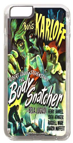 Boris Karloff The Body Snatcher Cover/Case Fits iPhone 6/6S Classic Horror Movie