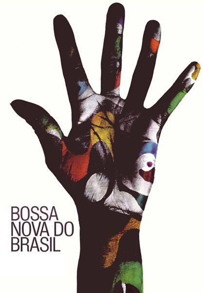 Bossa Nova Hands t shirt 12 Sizes. Gunther Kieser Latin America Music Brazil